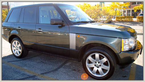 Unity Global Ventures Car Rental Lagos, Nigeria - Range Rover